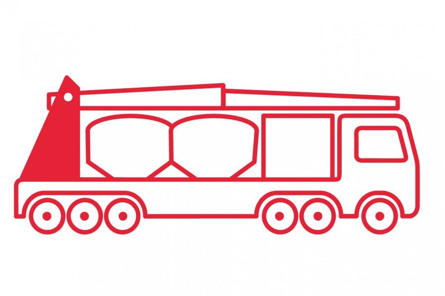 Road mobile ship unloaders